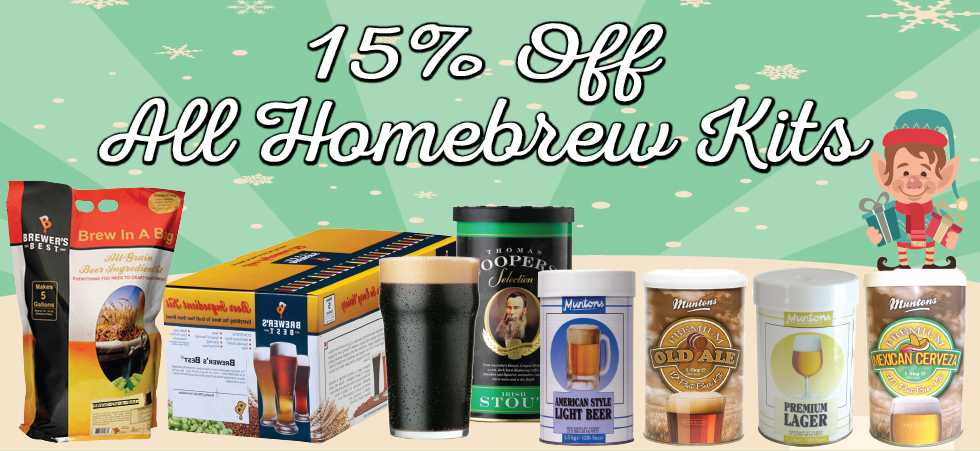 Discount Homebrew Ingredient Kits Keg Connection