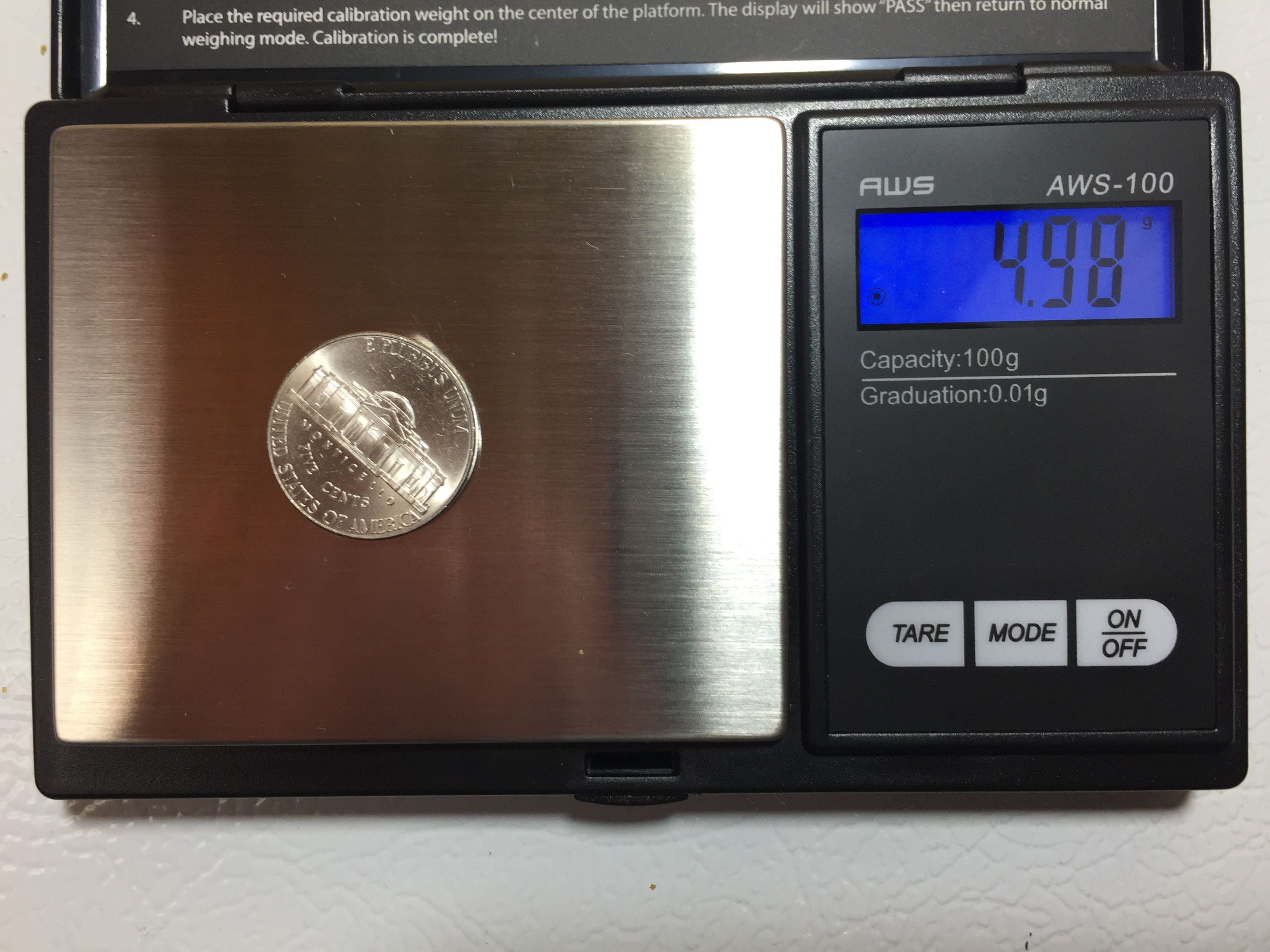 Scale Calibration Weights >> Hands On Review: American Weigh 100g x 0.01g Digital Scale | Homebrew Finds