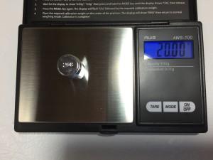 AWS-100 20 gram