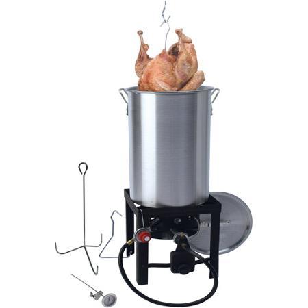 Grillsmith All-In-One 30 Qt. Turkey Fryer