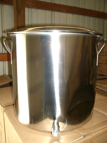 Scratch and dent homebrewing equipment