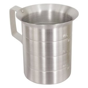 Crestware 4-Quart Aluminum Liquid Measures