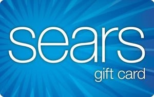 $100 Sears Gift Card for $80