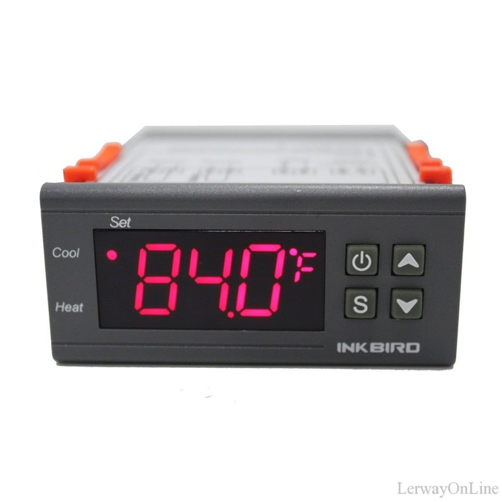 NEW 110V Digital ITC-1000F Temperature Controller C/F Fahrenheit With NTC Sensor