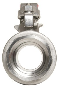 "1/2"" NPT 304 Stainless Steel Valve - Full Port 1000 WOG"