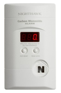 Kidde KN-COPP-3 Nighthawk Plug-In Carbon Monoxide Alarm with Battery Backup and Digital Display