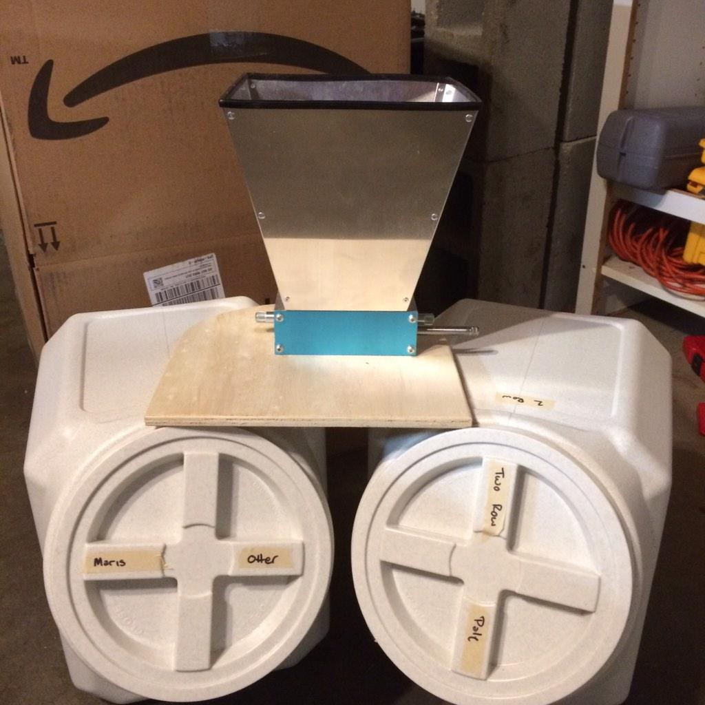 all grain mill storage homebrew