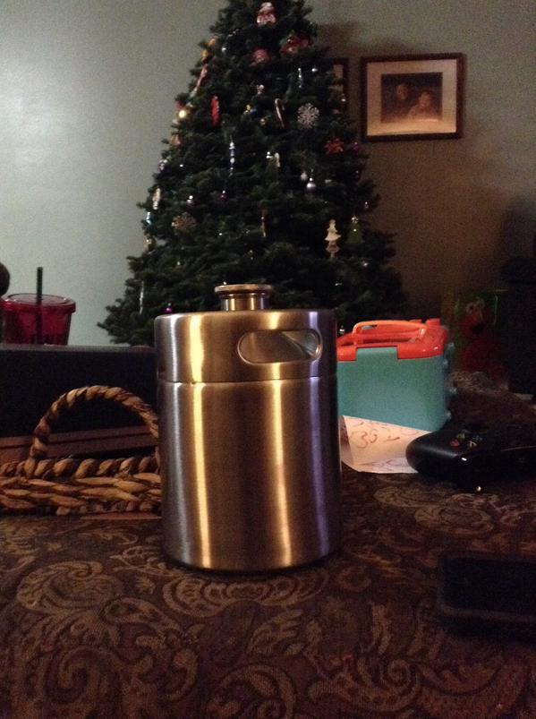 Stainless Mini Keg Growler