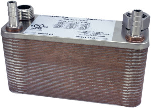 """Mouse over image to zoom B3-12A-40-Plate-Wort-Chiller-1-16-gpm-7-5-x2-9-M8-Studs-Beer-Brewing-Stainless  B3-12A-40-Plate-Wort-Chiller-1-16-gpm-7-5-x2-9-M8-Studs-Beer-Brewing-Stainless  B3-12A-40-Plate-Wort-Chiller-1-16-gpm-7-5-x2-9-M8-Studs-Beer-Brewing-Stainless  B3-12A-40-Plate-Wort-Chiller-1-16-gpm-7-5-x2-9-M8-Studs-Beer-Brewing-Stainless  B3-12A-40-Plate-Wort-Chiller-1-16-gpm-7-5-x2-9-M8-Studs-Beer-Brewing-Stainless  B3-12A-40-Plate-Wort-Chiller-1-16-gpm-7-5-x2-9-M8-Studs-Beer-Brewing-Stainless  B3-12A-40-Plate-Wort-Chiller-1-16-gpm-7-5-x2-9-M8-Studs-Beer-Brewing-Stainless  B3-12A-40-Plate-Wort-Chiller-1-16-gpm-7-5-x2-9-M8-Studs-Beer-Brewing-Stainless  B3-12A-40-Plate-Wort-Chiller-1-16-gpm-7-5-x2-9-M8-Studs-Beer-Brewing-Stainless  B3-12A-40-Plate-Wort-Chiller-1-16-gpm-7-5-x2-9-M8-Studs-Beer-Brewing-Stainless  B3-12A-40-Plate-Wort-Chiller-1-16-gpm-7-5-x2-9-M8-Studs-Beer-Brewing-Stainless  B3-12A-40-Plate-Wort-Chiller-1-16-gpm-7-5-x2-9-M8-Studs-Beer-Brewing-Stainless Have one to sell? Sell now B3-12A 40 Plate Wort Chiller 1.16 gpm 7.5""""x2.9"""" M8 Studs Beer Brewing Stainless"""