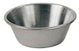 Update International SC-15 1.5 Oz. Stainless Steel Sauce Cup - Dozen