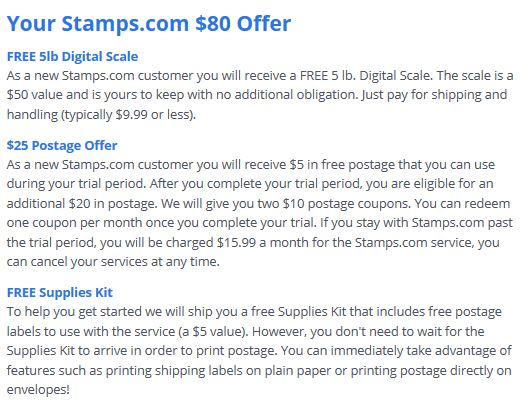 free stamps.com scale