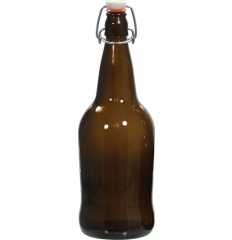 EZ Cap Bottles - 32 oz Amber Swing Top (Qty 12) $32.99 1 Review Item #: B351