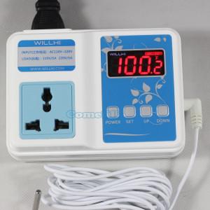 220/110VAC Mini Digital Temperature Controller Thermostat Aquarium DIY Sous Vid