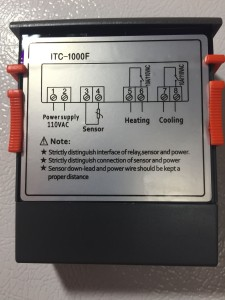 ITC-1000 Homebrew Temperature Controller Build