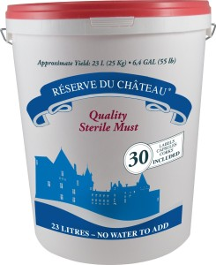 Reserve Du Chateau 6 Week Wine Kit, Australian Shiraz, 55-Pound Container