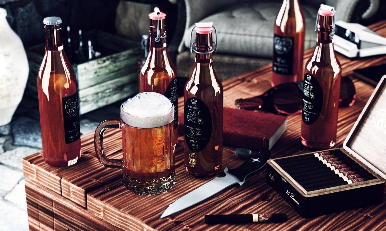Chalky Talky Chalkboard Bottle Labels For Homebrew Beer & Kombucha - 36 Reusable Waterproof Vinyl