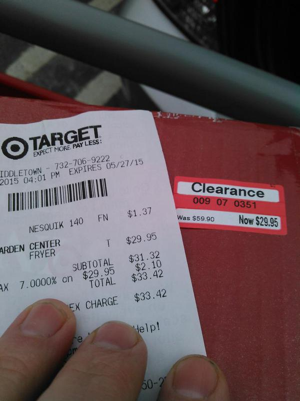 Target Discounted Propane Burner