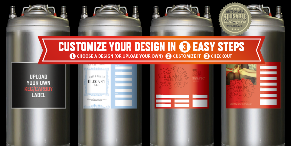 Keg and Carboy Labels