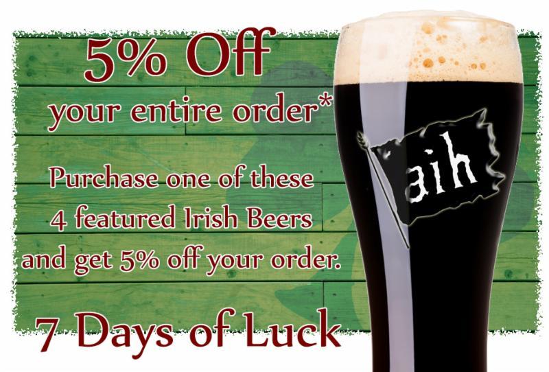 AIH St Patricks Sale