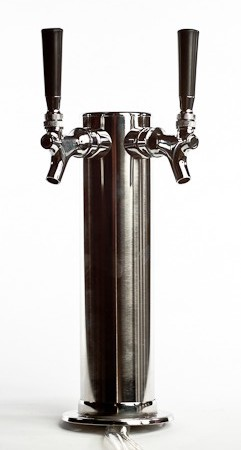 Economy SS Dual 2 Tap Draft Tower