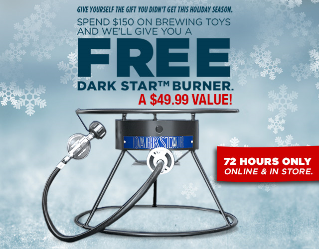 Northern Brewer Dark Star Burner