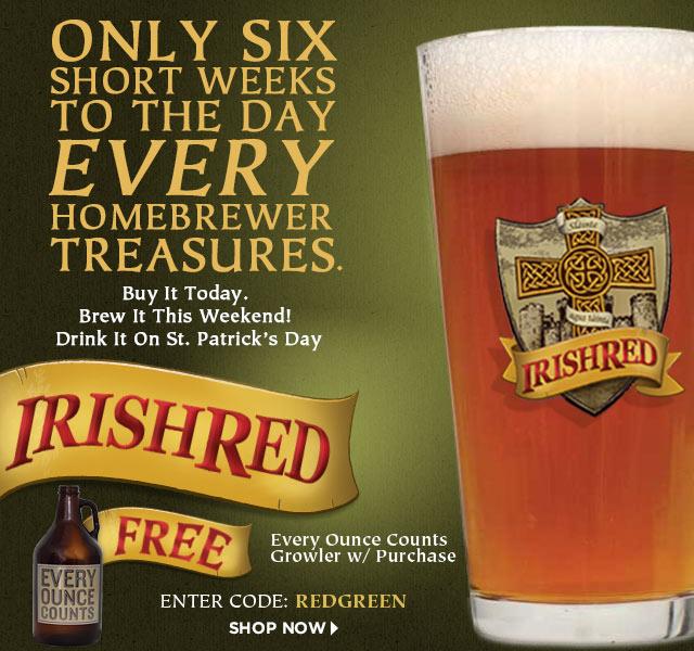 Irish Red Homebrew Recipe