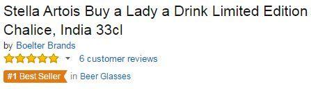 Buy a Lady a Drink Stella Artois
