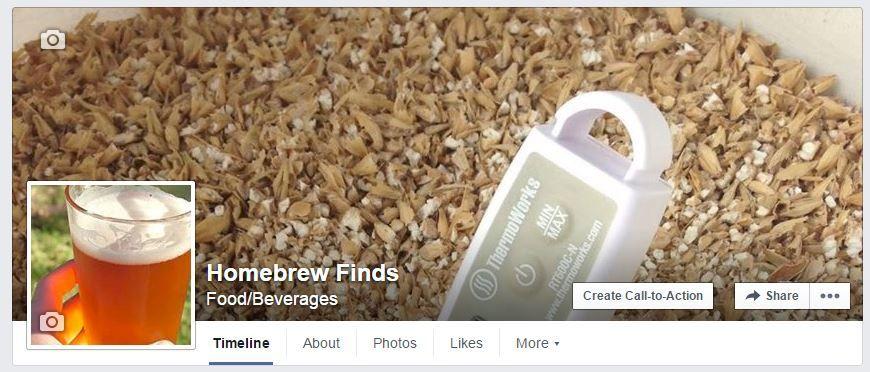 Homebrew Finds Facebook