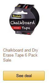 3m chalkboard dry erase