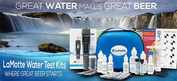 LaMotte Water Test Kits Homebrewing