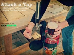 attach a tap kickstarter