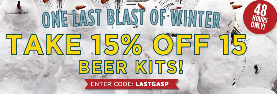 Northern Brewer Beer Kits