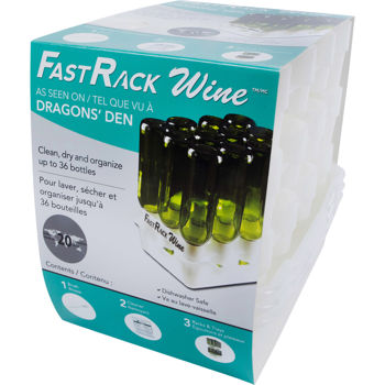 FastRack™ Wine – Wine Bottle Drying, Transporting and Storage System