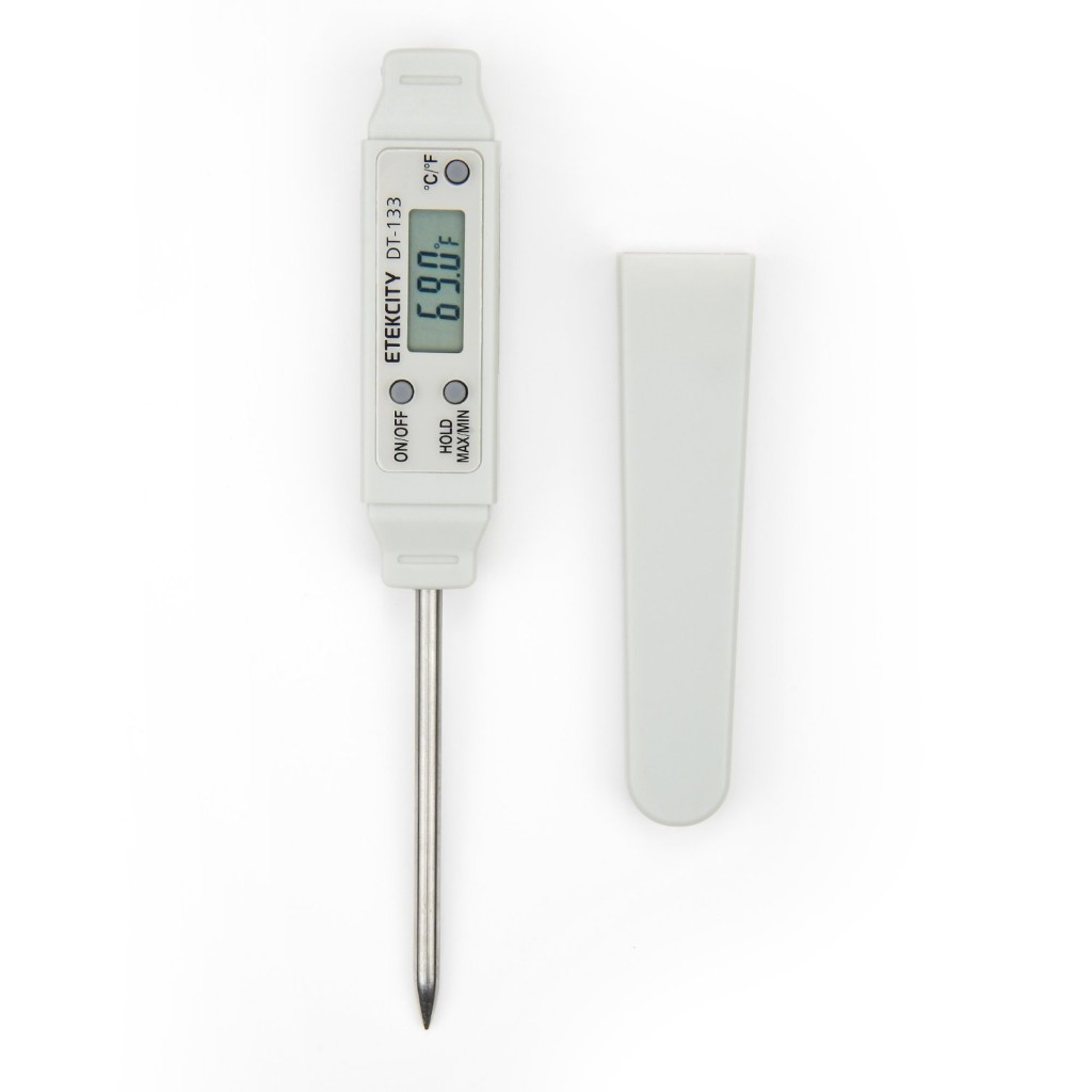 Etekcity® DT133 Instant Read Waterproof Mini Pocket Pen-Style Probe Thermometer - Range -40 to 482°F/-40 to 250°C ,Instant read,Waterproof