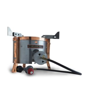 Edelmetall Brü Burner - Outdoor Propane Burner Designed Specifically for Home Brewing Beer
