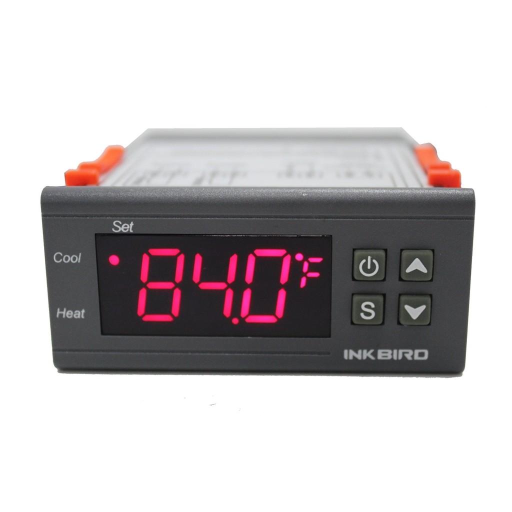Inkbird 110V All-Purpose Digital Temperature Controller Fahrenheit & Centigrade Thermostat + 2 Relays