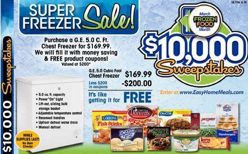 Ultra Foods Freezer