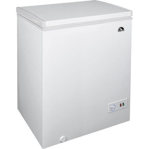 Igloo - 5.1 Cu. Ft. Chest Freezer - White