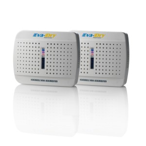 Eva-dry E-333 Dehumidifier, Twin Pack