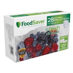 FoodSaver® Pint-Size Heat-Seal Bags