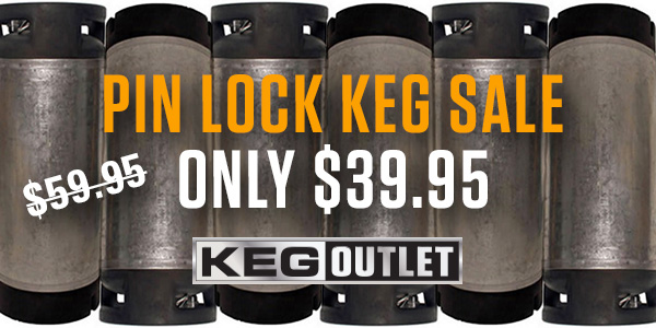 Pin Lock Homebrew Kegs
