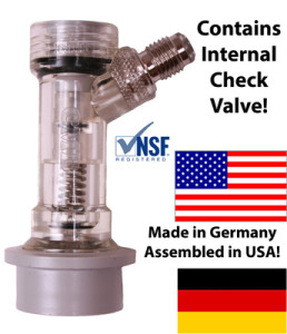 Disconnect with Check Valve