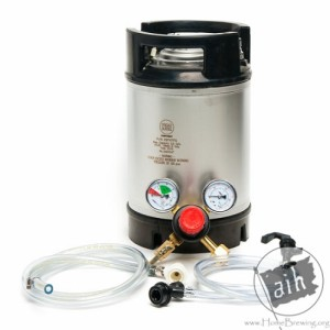 2.5 gallon portable keg system