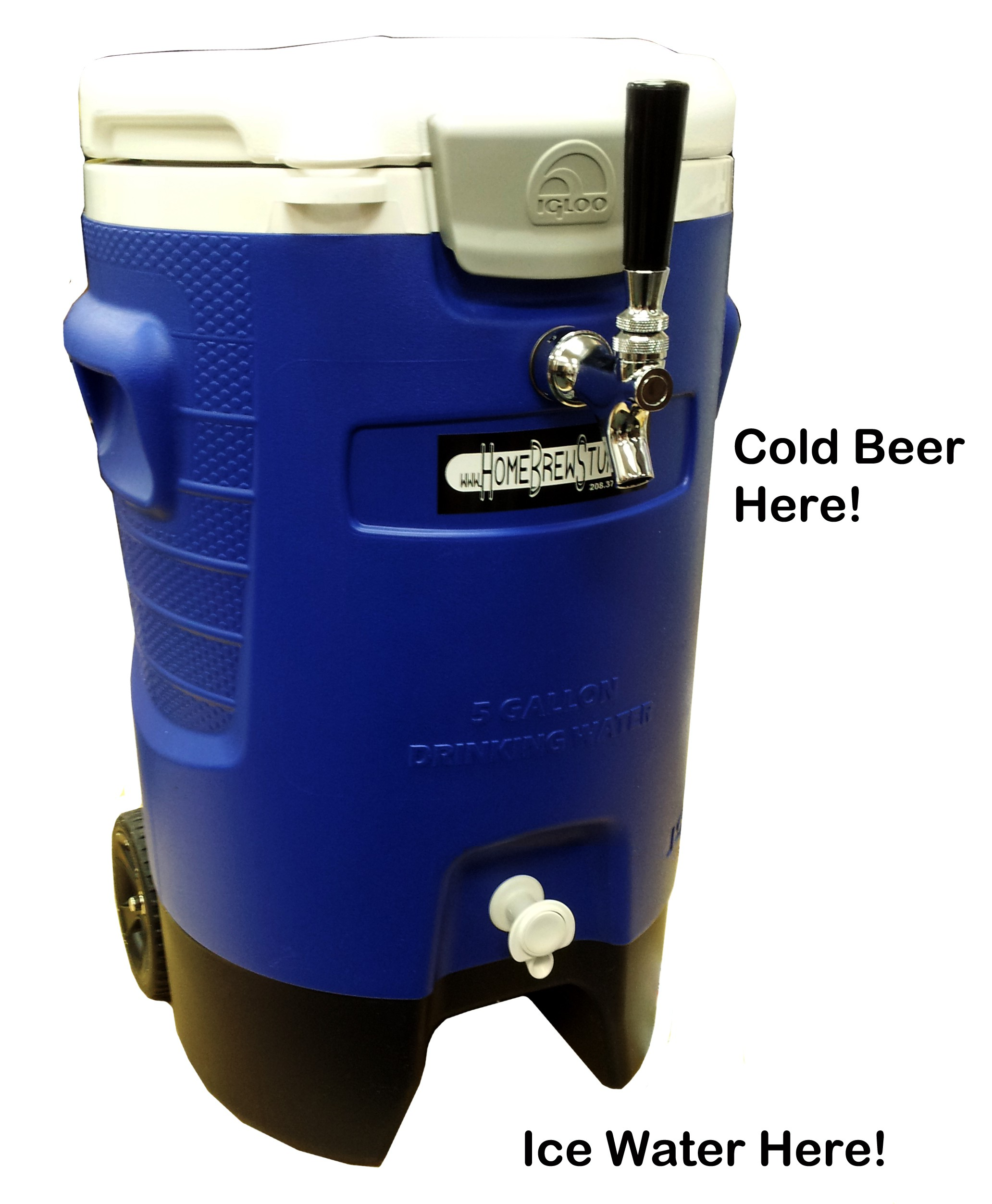 Portable Refreshment Device (PRD) - Single Tap Sport Jockey Box