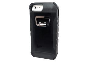 RUGGED BOTTLE OPENER IPHONE 5/5C/5S CASE - BLACK