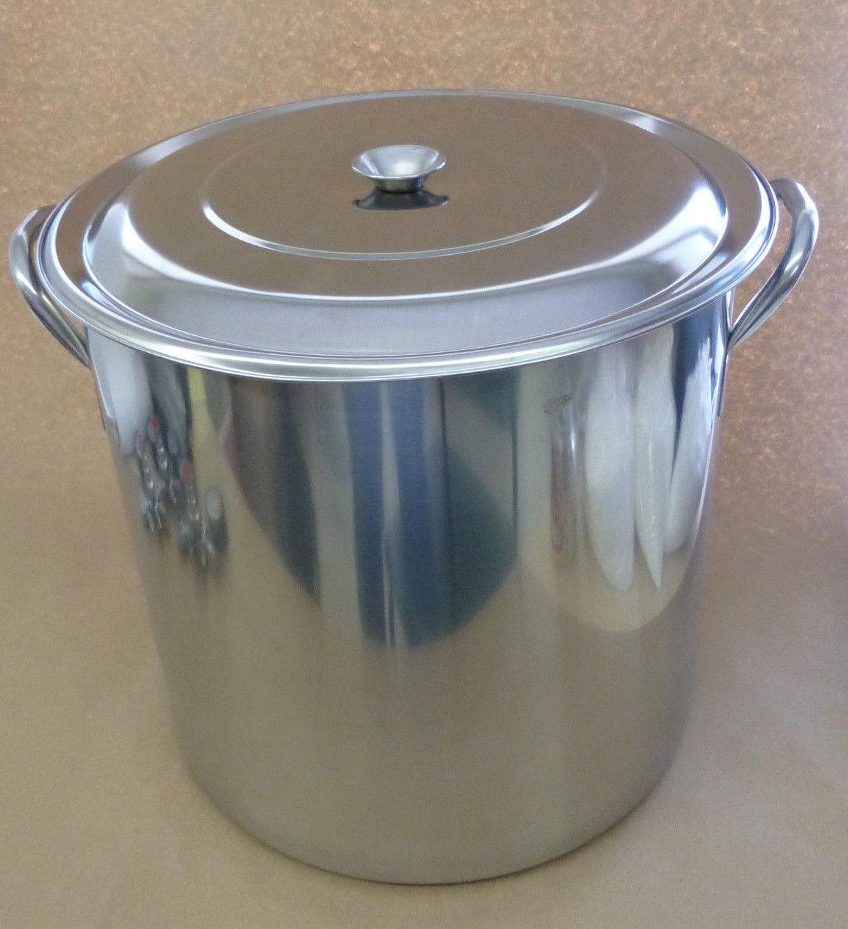 15 Gallon (60qt) Stainless Steel Brewing Kettle (SS Brew Pot)