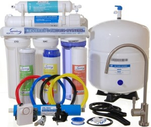 iSpring RCC7 - Best Value Newly Upgraded US Legendary 75GPD 5-Stage Reverse Osmosis Water Filter System with Brushed Nickel Faucet and New Upgrades 2014