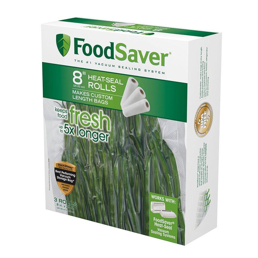 """FoodSaver 8"""" Roll, 3pk"""
