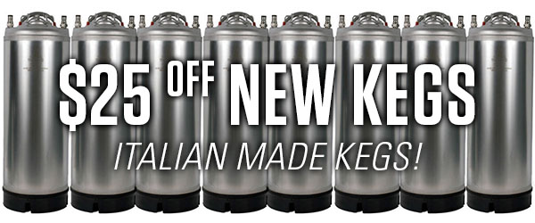 new italian ball lock kegs
