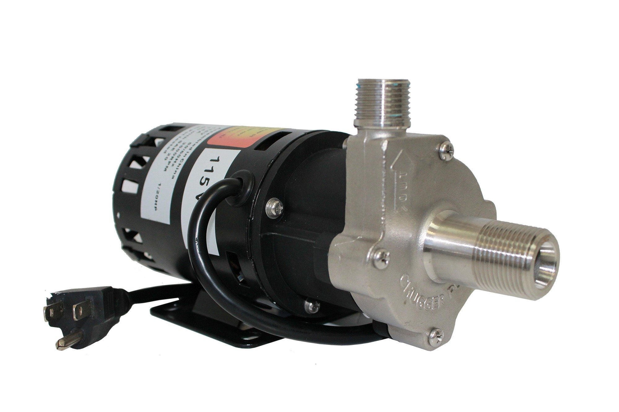 Center Inlet Chugger Pump